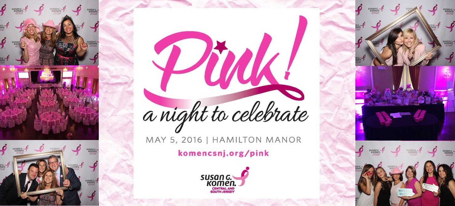 Pink gala 2016 banner