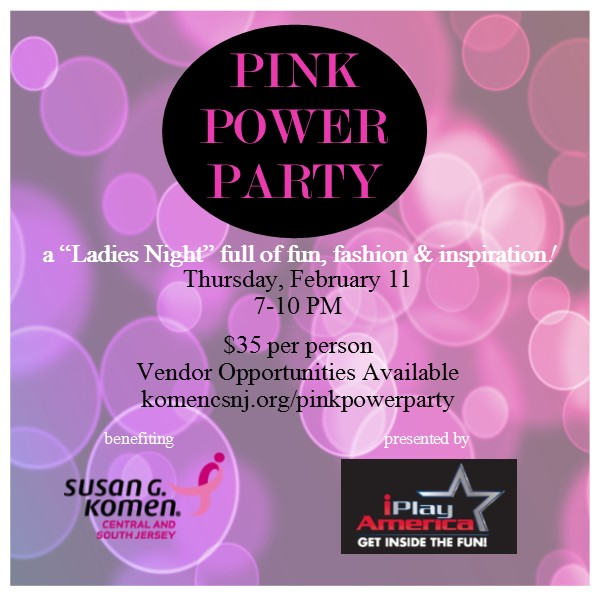 Komen Pink Power Party