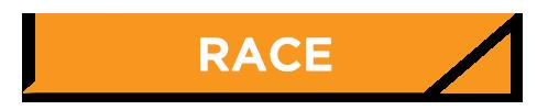 RACE Slanted Button Orange