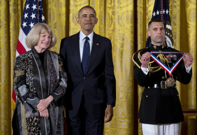 Barack Obama, Mary-Claire King