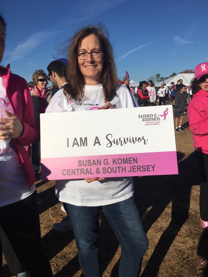 Beverly is now 4 years cancer free. Her team kept her going in her toughest moments, and her biggest piece of advice for those suffering is: Take it one day at a time.