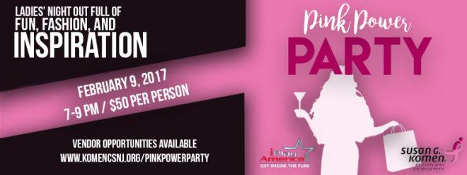 Pink Power Party 2017 Susan G Komen New Jersey
