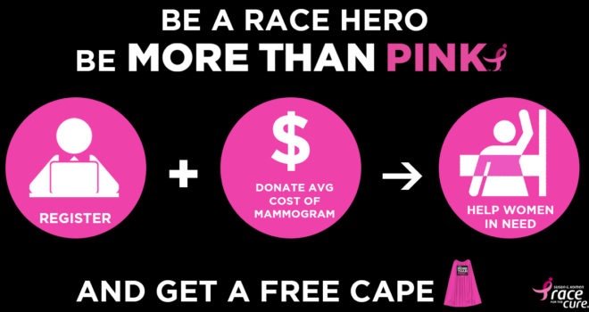 Become a More Than Pink Hero at the Komen Central & South Jersey Race for the Cure!